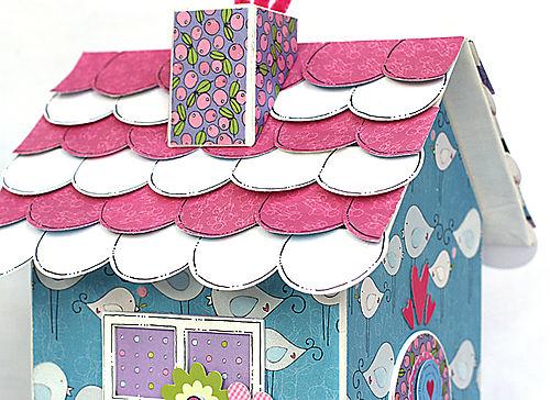 Bird house roof