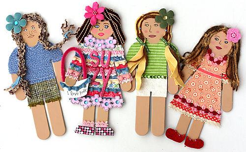 Dolls together