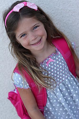 Chloe first day of school 2