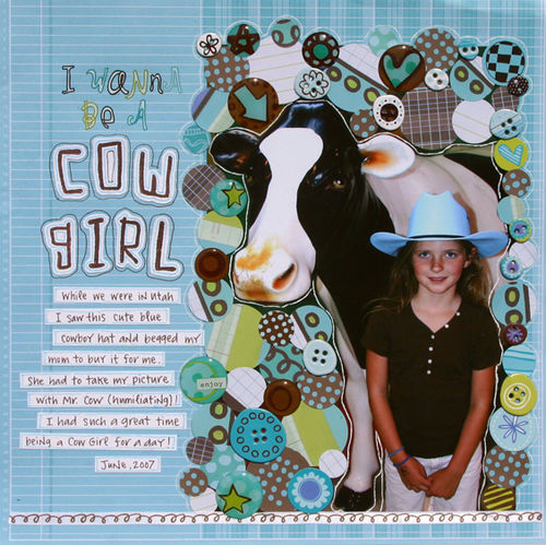 I Wanna Be a Cow Girl