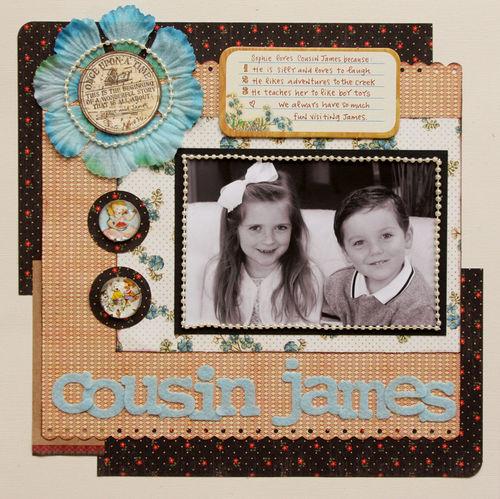 Cousin james
