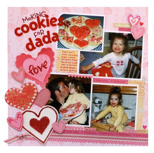 Cookies layout