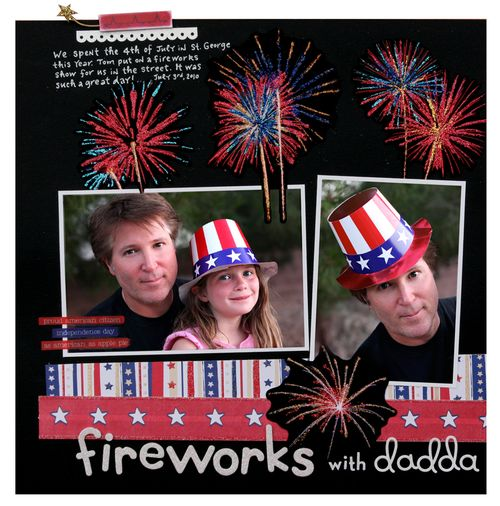 Fireworks with dadda