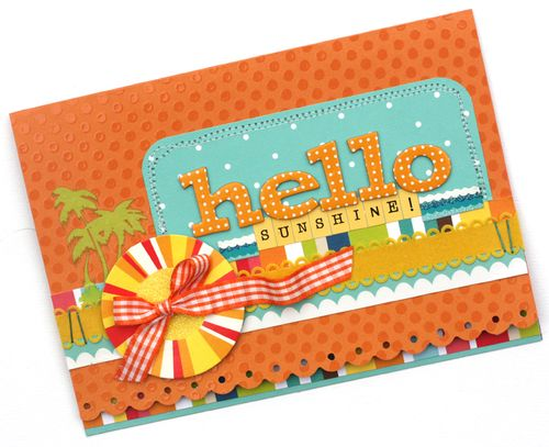 Hello Sunshine Card