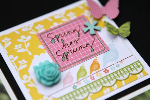 Spring sneak one