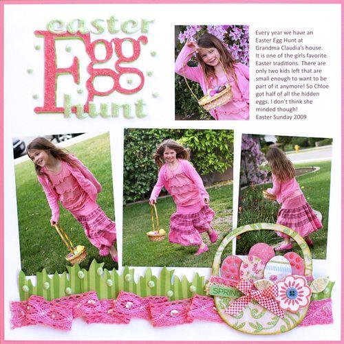 Easter egg hunt final