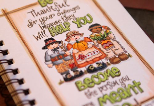 Gratitude quote two close up two