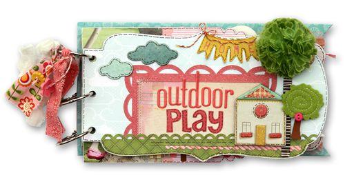 Outdoor play mini album