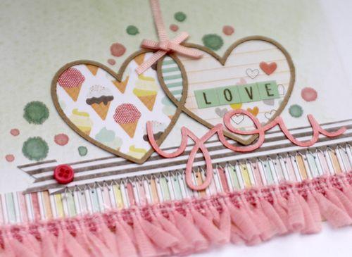 Love card close up