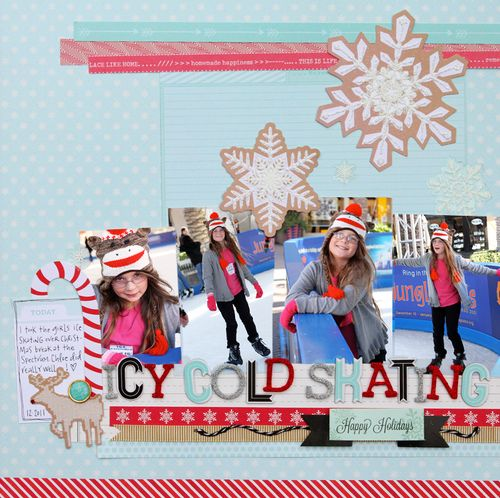 Christmas layout three