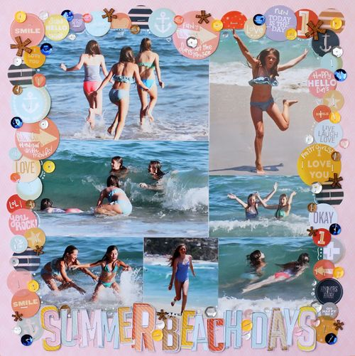 Summer beach days