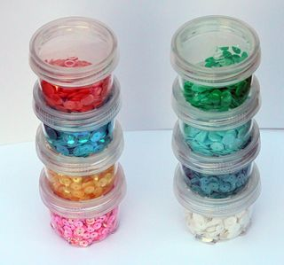 Sequin storage