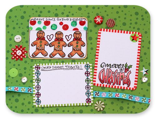 Christmas project life cards 5