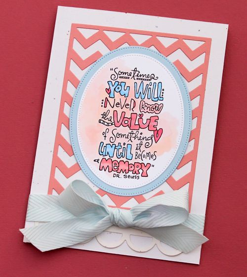 Dr seuss card