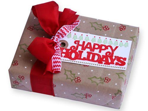 Happy holidays gift