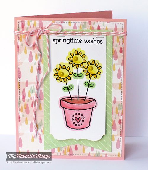 Springtime wishes card