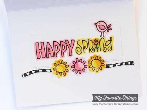 Spring card inside