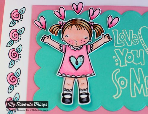 Love you so much card close up