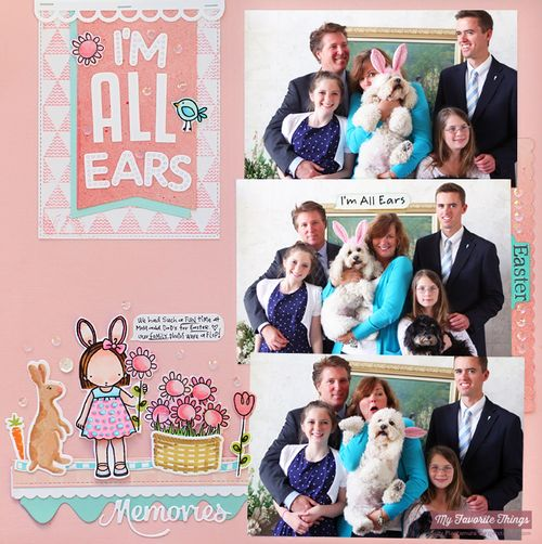 I'm all ears layout