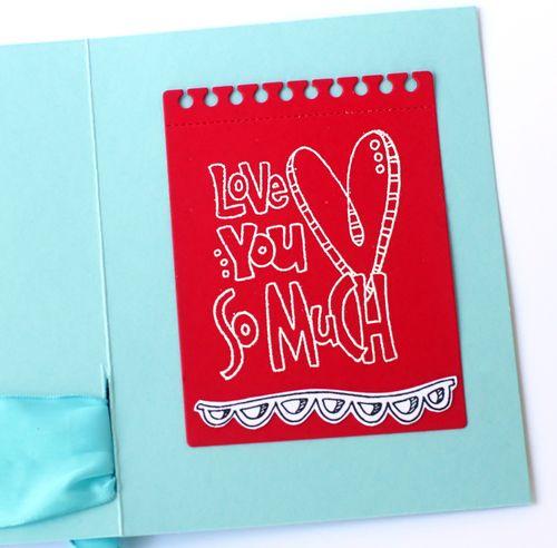 Love love love card inside