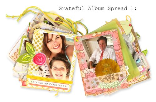 Grateful Album Spread 1