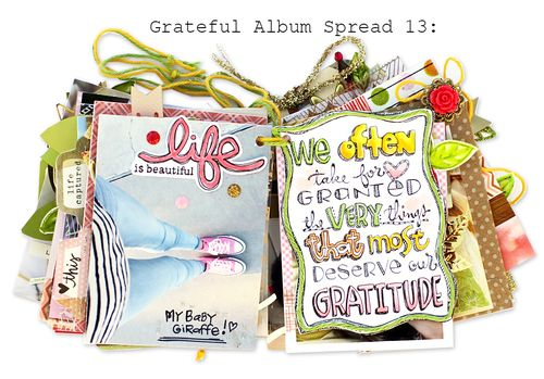 Grateful Album Spread Thirteen