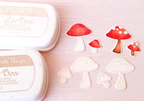 Mushroom card step 3