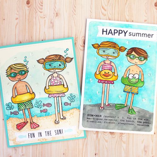 Both summer cards