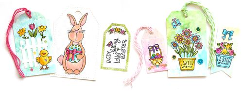 Easter Tags Together