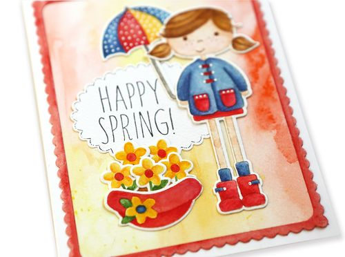 Happy Spring Card 2 Close up