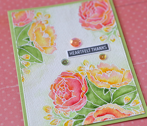 Flower card 2 Close Up small
