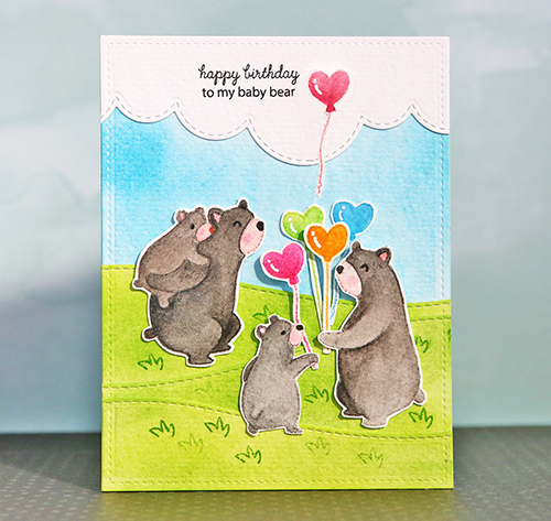 Bear Card small
