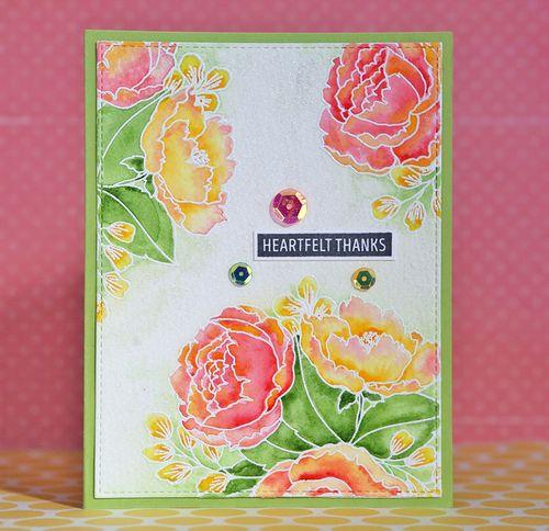 Flower card 2
