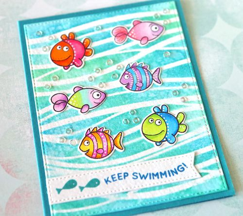 Keep Swimming Close UP