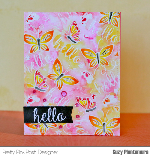 Hello card front