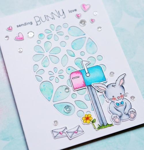 Sending Bunny Love Close Up