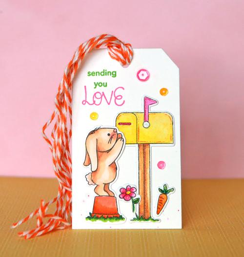 Sending You Love Tag