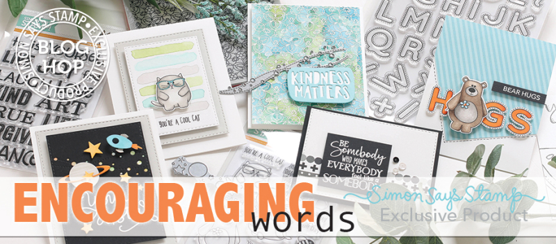 Encouraging Words Blog Hop Banner
