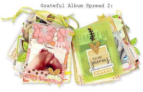 Grateful Album Spread Two