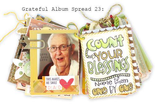 Grateful Album Spread 23