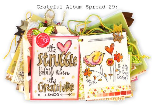 Grateful Album Spread 29