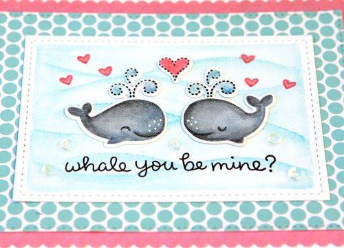 Whale you be mine 2 close up