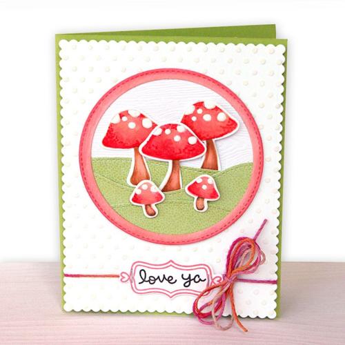 Mushroom card