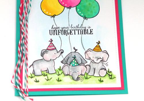 Unforgettable card step 13