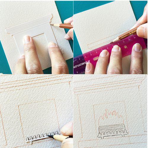 Card steps 1
