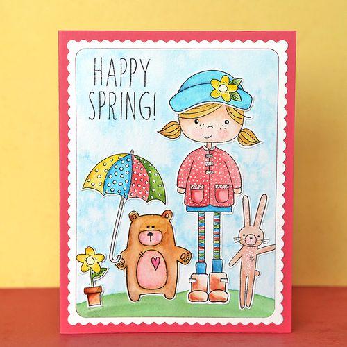 Happy Spring Card 1