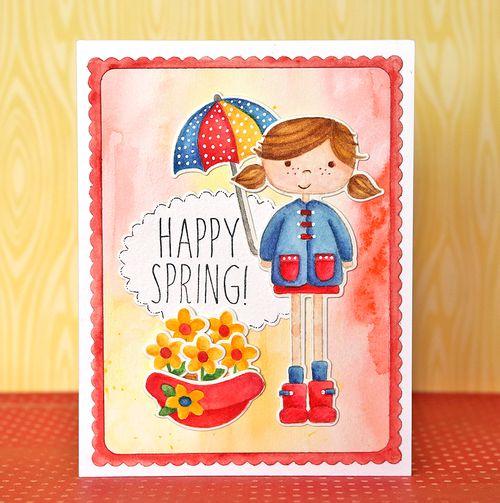 Happy Spring Card 2