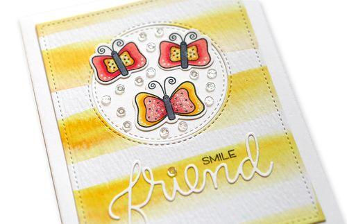 Smile Friend Card close up