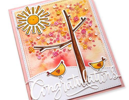 Congratulations Card close up