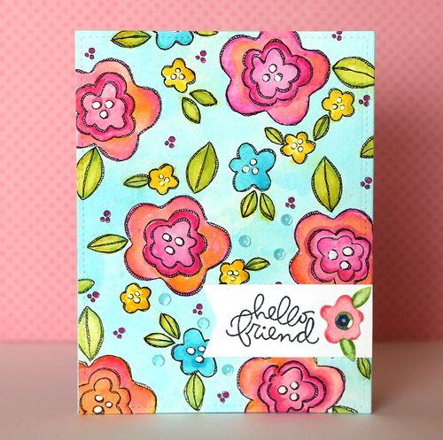 Hello Friend 2 Card